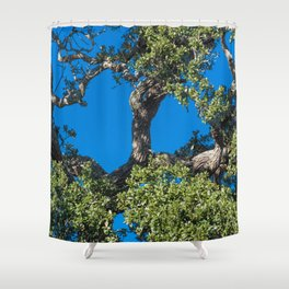 Magnificent Oak Shower Curtain