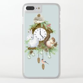 Christmas time Clear iPhone Case