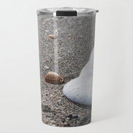 Shells and Sand Travel Mug