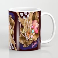 artpop Mugs featuring Neon Artpop by Helen Green