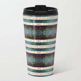 Vintage Striped Pattern - Westin Inspired Travel Mug