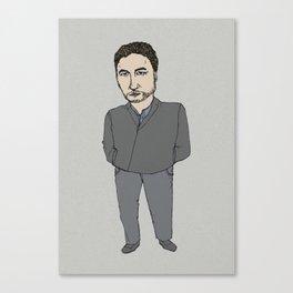 seriese-TV Canvas Print