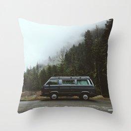Northwest Van Throw Pillow