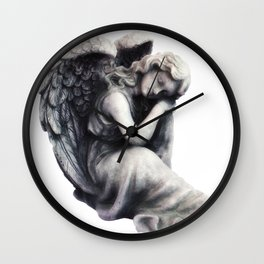Resting Angel Wall Clock