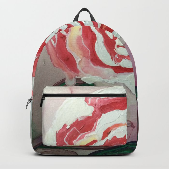 Mother's Day Flowers, Flowers That Will Last Forever Backpack