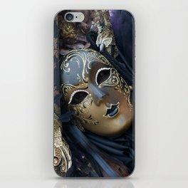 Carnival mask iPhone Skin