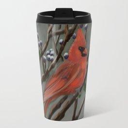 Male Cardinal DP151210a-14 Travel Mug