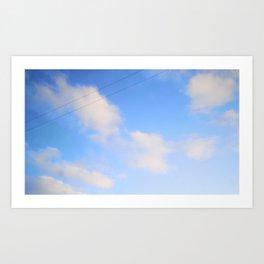non mint sky Art Print