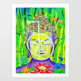 Buddha Cho Ku Rei Art Print