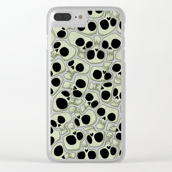 Vacation is over! Clear iPhone Case