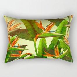 Birds of Paradise Rectangular Pillow