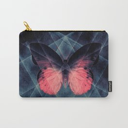 Beautiful Symmetry Butterfly Carry-All Pouch