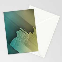 Joy – Stone Dark Stationery Cards