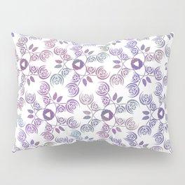 Art Nouveau Poppy Pattern Pillow Sham