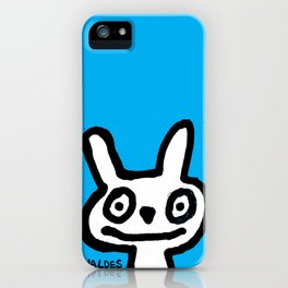Drowsy Bunny iPhone Case