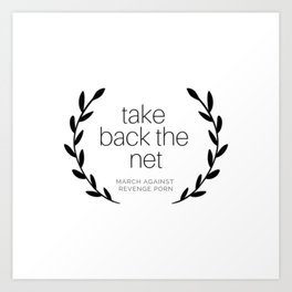Take Back the Net. Art Print