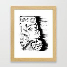 the1975 Framed Art Print
