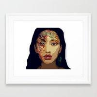 pocahontas Framed Art Prints featuring Pocahontas by FannikaRial