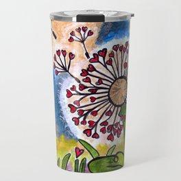 Hold Me Gently ~ Like a Dandelion Travel Mug