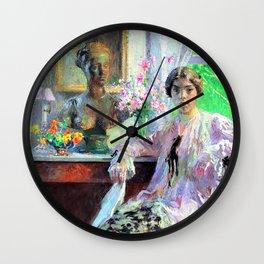 Nellie Kabel - Julius Garibaldi Melchers Wall Clock