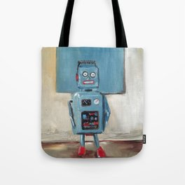 Color Match Bot Tote Bag