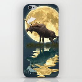 Moose & Moon iPhone Skin