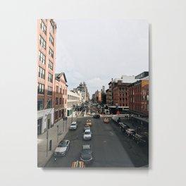 The High Line View Metal Print
