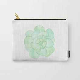 Crassula - Green Succulent Carry-All Pouch