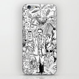 Charles Fort iPhone Skin