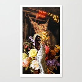 Venus de Milo Selfie. Canvas Print