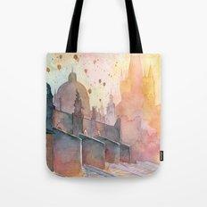 Charles Bridge, Prague Tote Bag