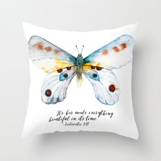 He Has Made All Things Beautiful Throw Pillow