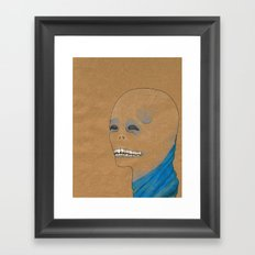 King Demon Framed Art Print