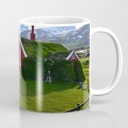 Lindarbakki Turf House in Borgarfjörður-Eystri in East-Iceland Coffee Mug