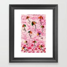 Dance in the Rain! Framed Art Print