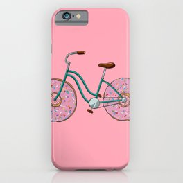 Donut Bicycle iPhone Case