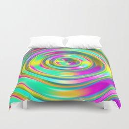 Pastel Swirl Duvet Cover