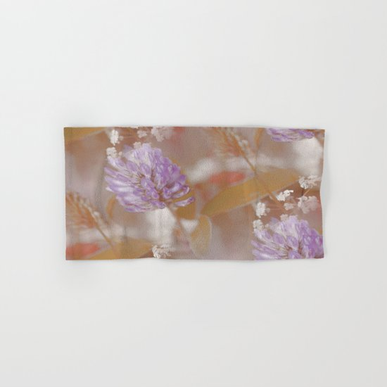 Flower Poetry In Nature Hand & Bath Towel