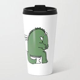 Funny Dinosaur Travel Mug