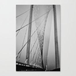Santiago Calatrava Bridge Canvas Print