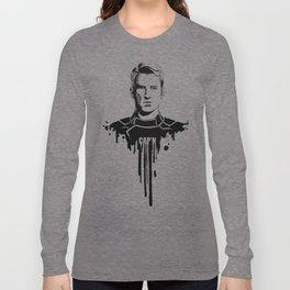 Avengers in Ink: Captain America Long Sleeve T-shirt