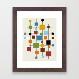 Mid-Century Modern Art 1.3 Framed Art Print