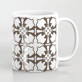 Stretching Cats Pattern Coffee Mug