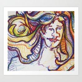 ladylight Art Print