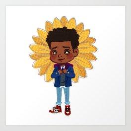 You're a Sunflower Art Print