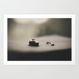 Miniature Violin (2) Art Print