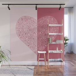 Heart of Heart Anatomy Wall Mural