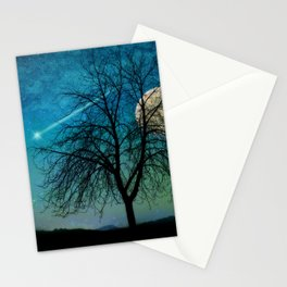 Solitude Harvest Moon Stationery Cards