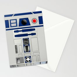 R2D2 Robot Stationery Cards