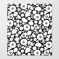 clear cut flowers Canvas Print